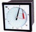圆图自动平衡有纸记录仪