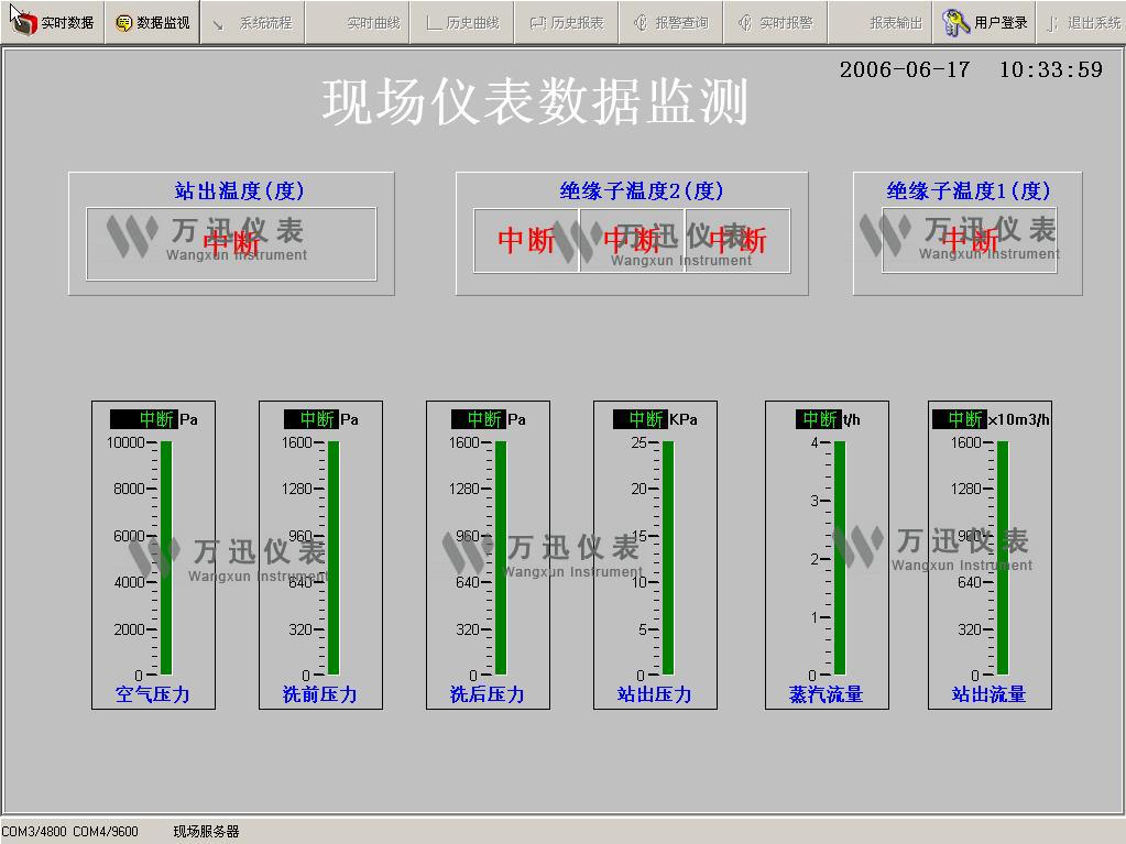 环保领域现场解决方案与系统结合部分展示图(1)